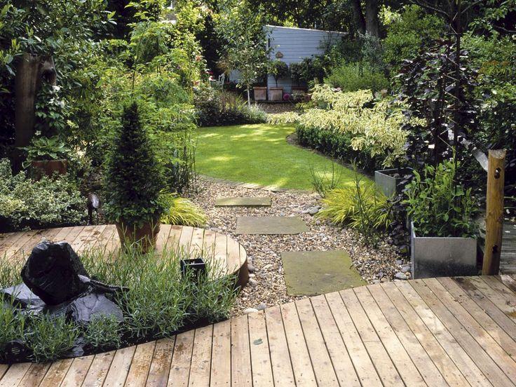 Lush Life Using Organic Shapes In Large Gardens