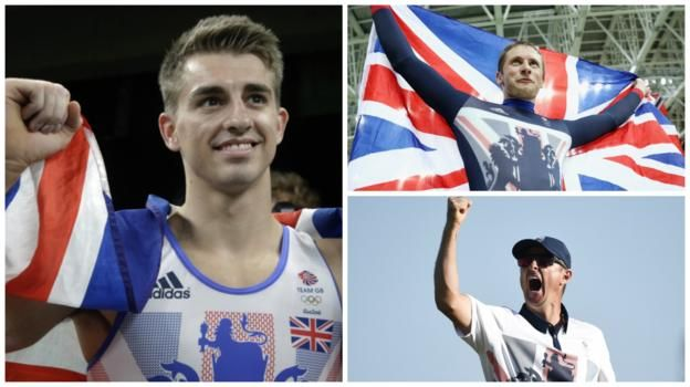 Rio Olympics 2016: Max Whitlock wins two golds, Justin Rose and Jason Kenny triumph - BBC Sport