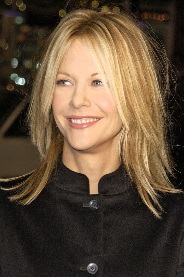 Meg Ryan - cute layered hairstyle for if I ever want to go short again
