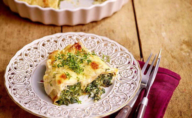 Von der Redaktion für Sie getestet: Spinatpalatschinken mit Frischkäse. Gelingt immer! Zutaten, Tipps und Tricks