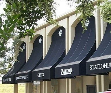 Fabric Awnings with Graphics