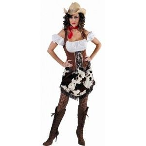 D guisement cowgirl femme luxe campagne westerns et cow boys - Deguisement western femme ...
