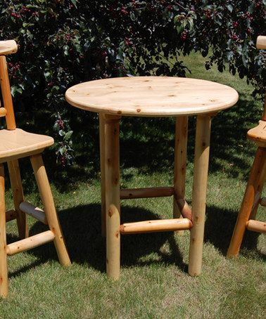 outdoor bistro table set zulilyfinds