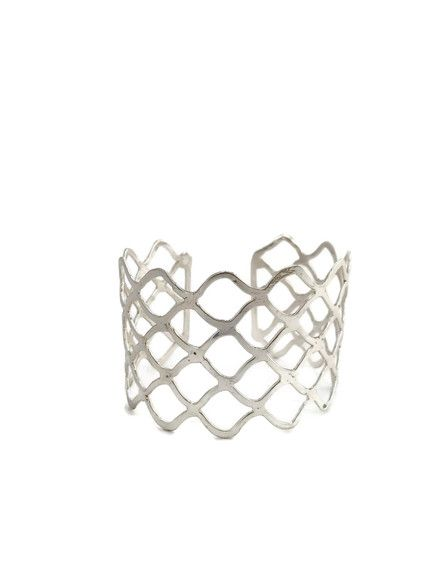 Our Lattice Cuff is made fair trade by women in India.