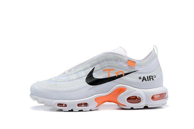 Off White Nike Air Max TN White Black