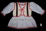 Costum popular pentru botez fetite ANCUTA