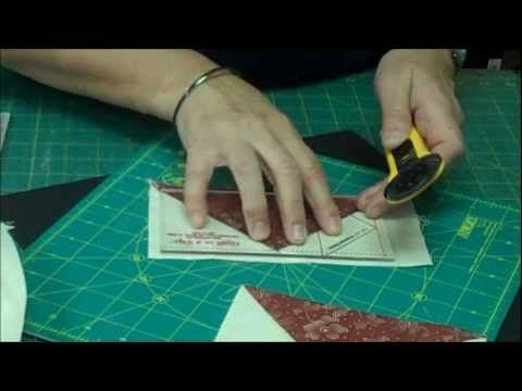 http://missouriquiltco.com -- Jenny Doan shows the easy way to make Flying Geese for a quilt.    To get the materials needed to do this project, follow the links below:    Flying Geese Rulers by Eleanor Burns:  http://www.missouriquiltco.com/shop/browse/2?q=flying+geese=Quilt+In+a+Day    Beautiful Fabric by the Yard:  http://www.missouriquiltco.com/s...