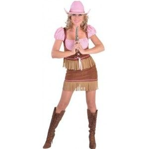 Déguisement cowgirl country femme deluxe