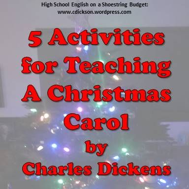 A Christmas Carol by Charles Dickens is a story that tends to fit nicely in the two or three weeks between Thanksgiving and Christmas. Depending on the class and the time available, the activities …