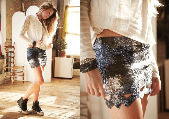 Trend: Summer Sequins  http://blog.freepeople.com/2012/03/trend-summer-sequins/