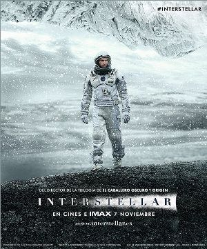 Interstellar [videograbación : DVD] una película de Christopher Nolan // Al ver que la vida en la Tierra está llegando a su fin, un grupo de exploradores liderados por el piloto Cooper (McConaughey) y la científica Amelia (Hathaway) se embarca en la que puede ser la misión más importante de la historia de la humanidad y emprenden un viaje más allá de nuestra galaxia en el que descubrirán si las estrellas pueden albergar el futuro de la raza humana. Nro. de Pedido: DVD I619N 2015