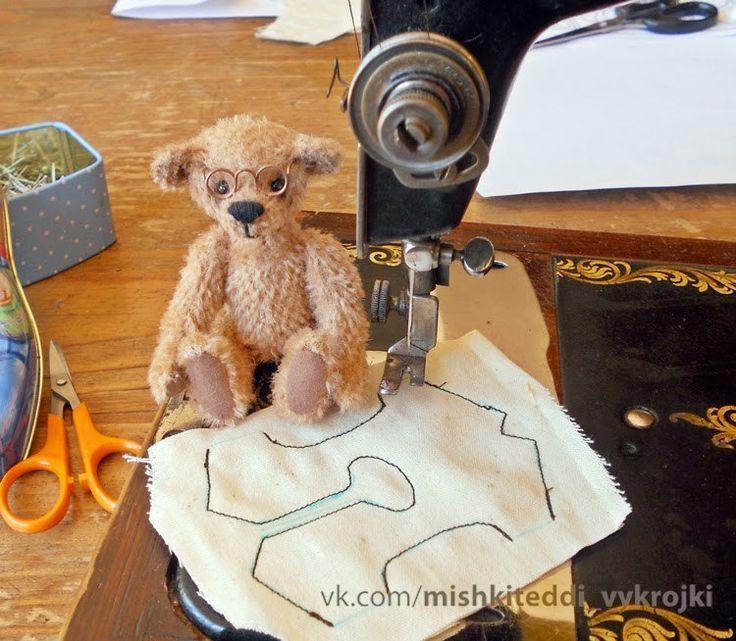 Мишки Тедди выкройки мастер-классы