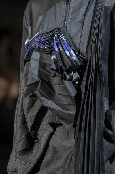 Yohji Yamamoto at Paris Fashion Week Fall 2017