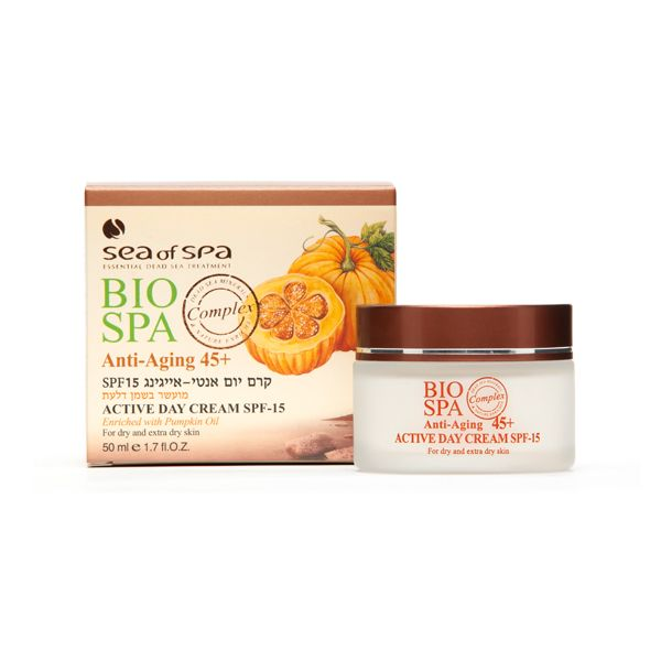 Sea Of Spa | Anti Aging +45 Active Day Cream SPF-15