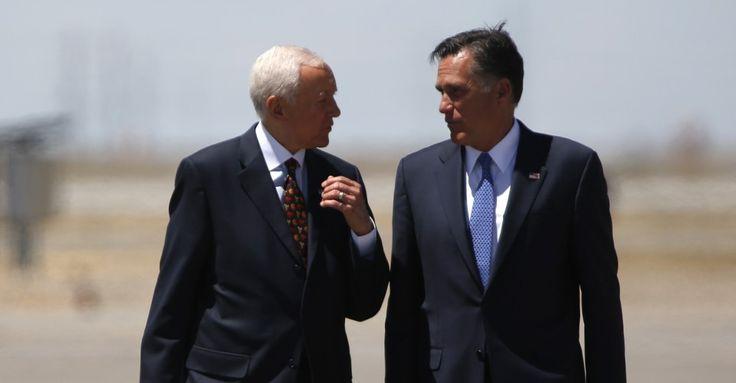 #Orrin Hatch Tells #Friends He Plans to Retire... #Romney To Run?