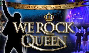 """Groupon - Konzert """"We Rock Queen"""" vom Februar bis April 2018 in u. a. Köln, Stadtlohn und Niederkrüchten (bis zu 50% sparen) in Mehrere Standorte. Groupon Angebotspreis: 23,90€"""