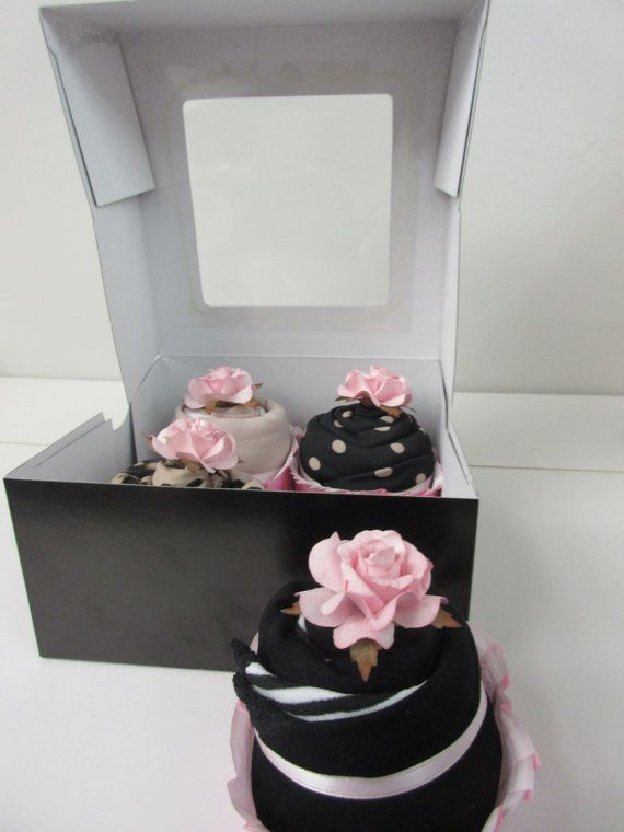 Lingerie Cupcakes  Unique Bridal Shower Gift by OhBabyCake on Etsy
