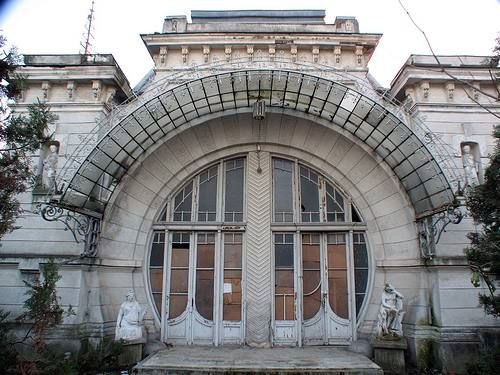 ( Romanian Art Nouveau / Jugendstil / Secession )  The Silion House from Botosani, Moldova Region, Romania (built in 1900)