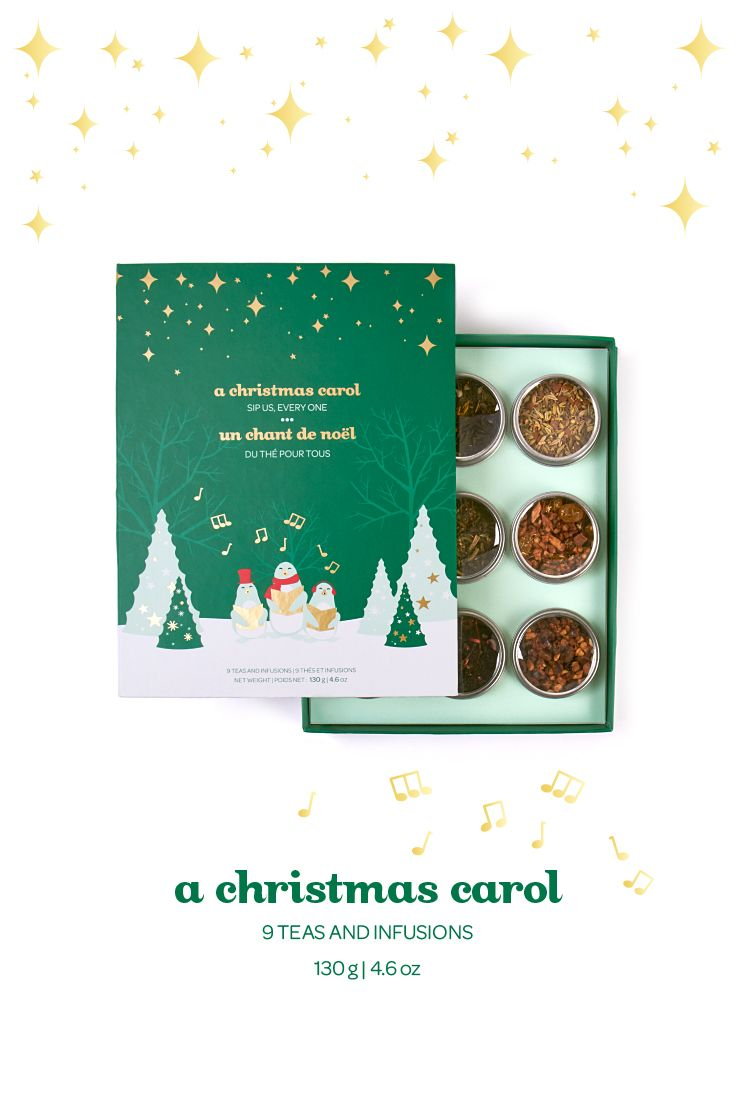A Christmas Carol - A collection of nine teas from Christmas past, present and future.