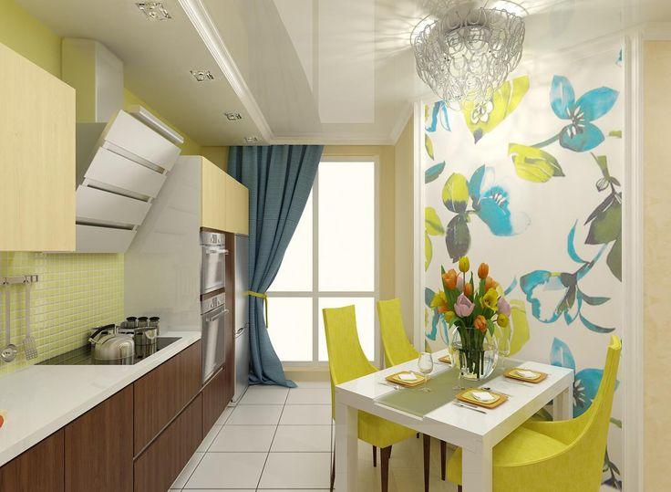 2-х комнатная квартира в ЖК Никольский была переделана в 3-х комнатную квартиру для комфортного проживания семьи из 3-х человек. По желанию заказчика дизайн выполнен в современном стиле, в ярких цветах.