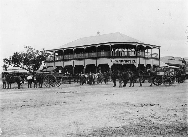 Grand View Hotel, Bowen, ca. 1907