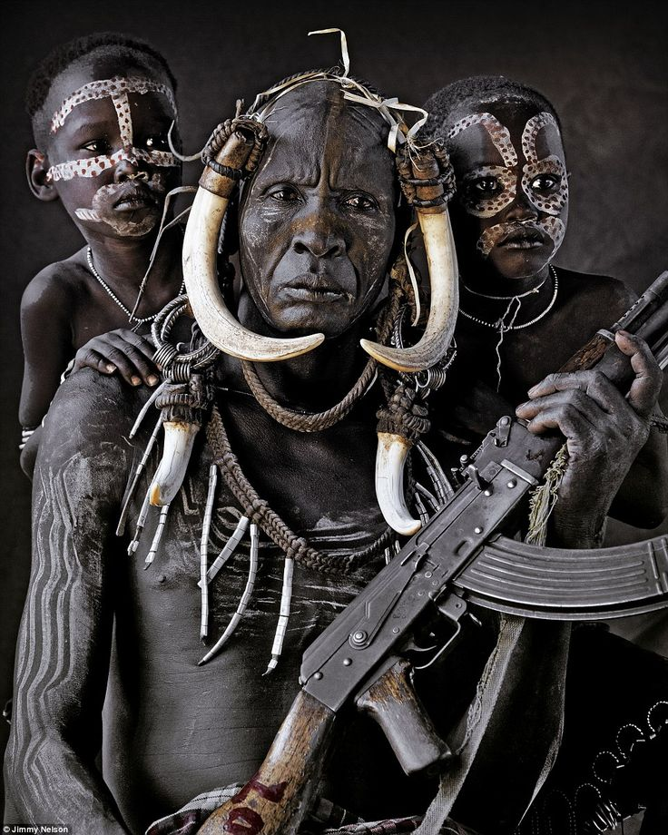 The Mursi are a nomadic tribe of herdsmen living in the lower Omo Valley, situated in Africa¿s Great Rift Valley in south-west Ethiopia, not...