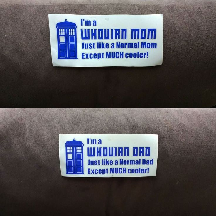 """$5 Car Decals! Looking for a quick gift for a Whovian? These 7""""x3"""" TARDIS Blue decals are surely the coolest gift!  The decal was created with a 6 year outdoor permanent adhesive vinyl so you know it'll stay with you for a few incarnations of our Beloved Doctor!  Please do not apply these inside as it may ruin paint. Instructions to apply will be included!  The decal is TARDIS BLUE. The white background is the backing.  Want something specific to a Doctor? Or even for a sister or brother?…"""