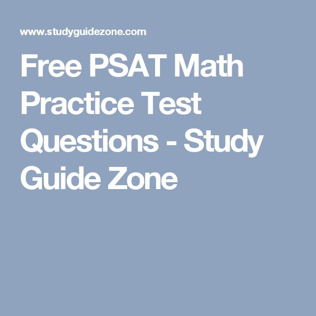 Test-taking advice Student Sample test Guide