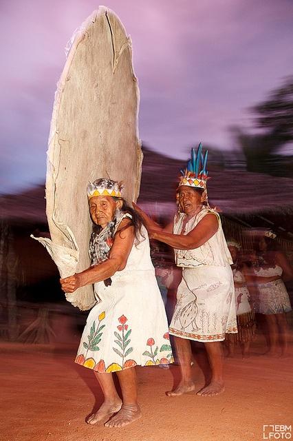 Danza de la tribu Ticuna. Amazonas. #Colombia @Miguel Hernández Hernández Hernández Hernández Angel Turístico #SomosTurismo by ebmfoto.com