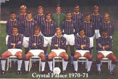 crystal palace 1970-71 team group
