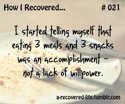 Start telling yourself this-- because it's the freakin' TRUTH. #preach #edrecovery #eatingdisorders: