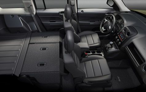 2016 Jeep Patriot Sport Folding Seats