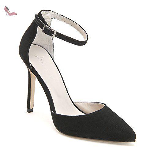 Chaussures à bout pointu Alesya noires femme m6QRzt