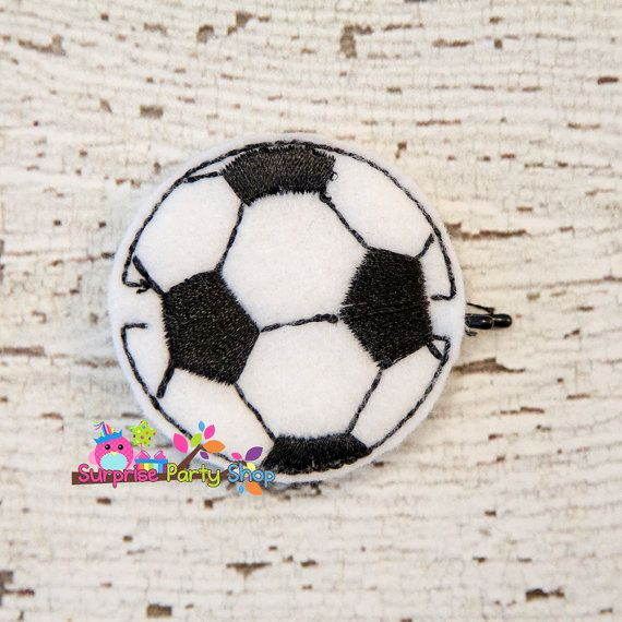Soccer Cutie Bobby Pin Buddie Hair by SurprisePartyShop on Etsy