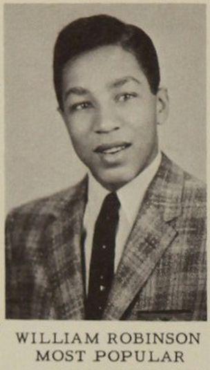 Smokey Robinson born February 19, 1940. View the American R&B singer-songwriter in the 1957 Northern High School yearbook!