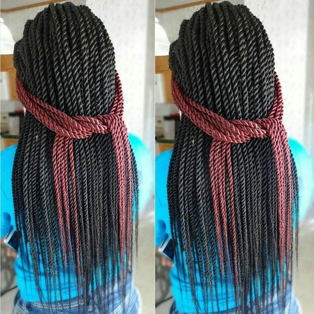 Senegalese twists are a good protective style option because not only they will protect your natural hair, but also make you look stunning! Also, they are very versatile so you'll be able to experiment with different gorgeous styles on a daily basis. Senegalese twists (or rope twists) will keep your natural hair healthy without sacrificing …