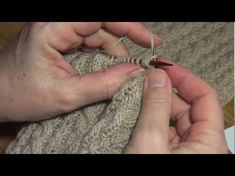 Har du noen gang lurt på hvordan du strikker fletter uten hjelpepinne? Tove viser deg hvordan! - Tusenideer.no