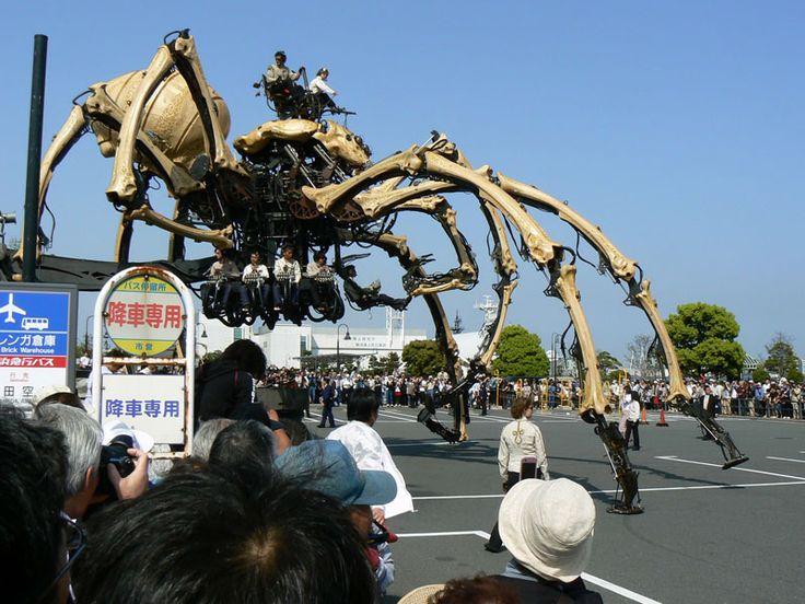"""The city of Yokohama """"spider"""" of the machine body 2. OMGosh! I love this!!"""