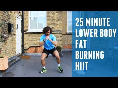 Fat Burning HIIT & Lower Body Workout | The Body Coach - YouTube