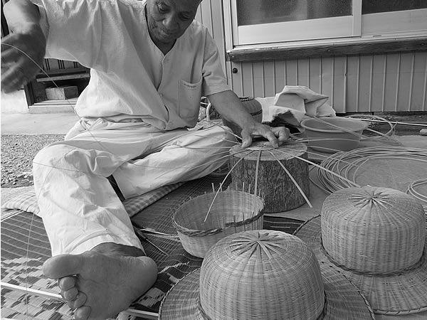 竹帽子職人 bamboocraftsman 竹細工 竹工芸品 bamboocrafts 竹ヒゴ 虎斑竹専門店 竹虎
