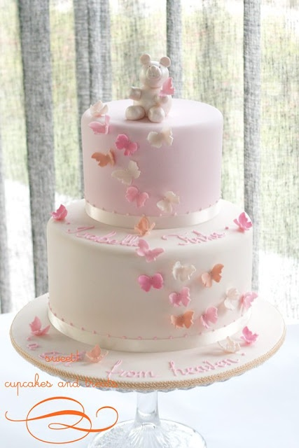 { Christening Cake }