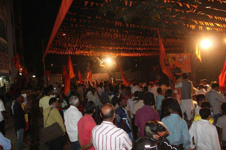 Ganesh Jayanti Palkhi by श्री राम गर्जना ढोल ताशा पथक - मरोळ