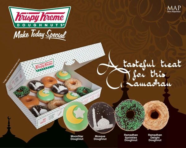 Be in the spirit of Ramadhan with Krispy Kreme's latest doughnut creations!