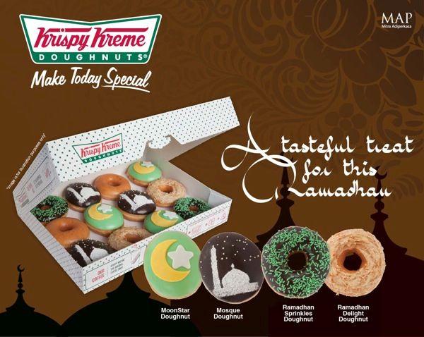 Be in the spirit of Ramadhan with Krispy Kreme's latest doughnut creations!