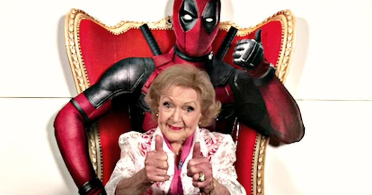 Watch Betty White's Raunchy 'Deadpool' Review -- Does 'Golden Girls' star Betty White love or hate 'Deadpool'? The iconic actress offers her thoughts in a NSFW new video. -- http://movieweb.com/deadpool-movie-review-betty-white-golden-girls/