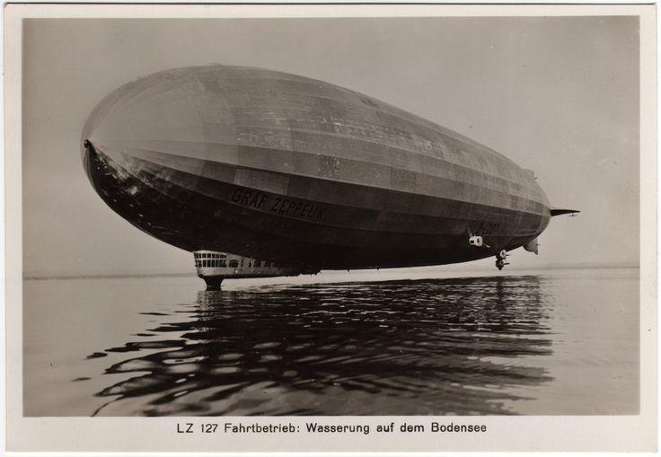 """Graf Zeppelin e Hindenburg     Aconteceu e é fato.   Os dirigíveis alemães Graf Zeppelin e o Hindenburg, verdadeiros """"navios aéreos"""", tinh..."""