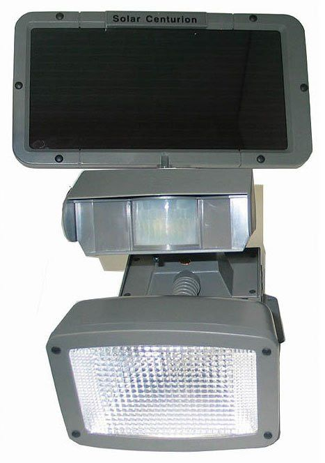 Solar Security Light Centurion Black 13 Quot H X 8 Quot W X 9