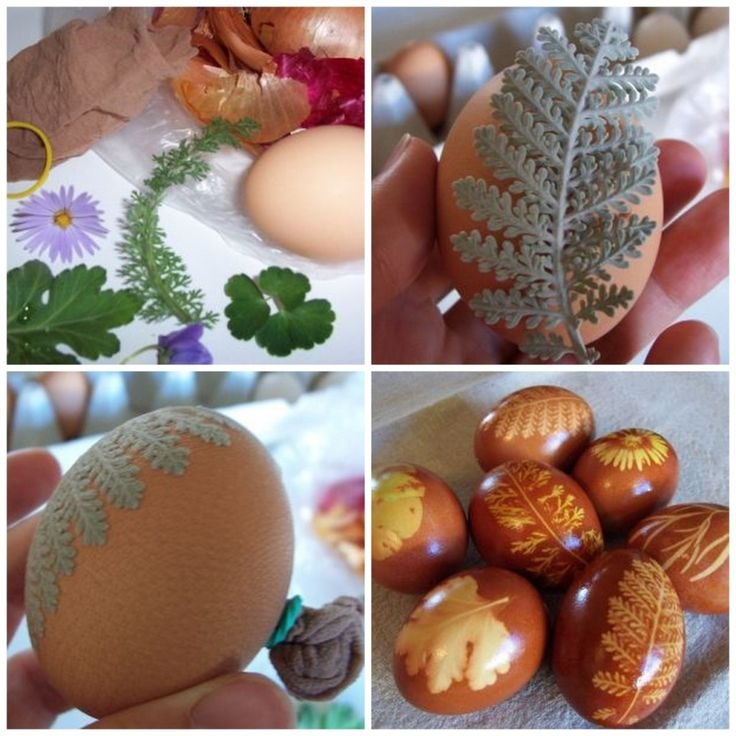 15 Natural Easter Eggs Ideas