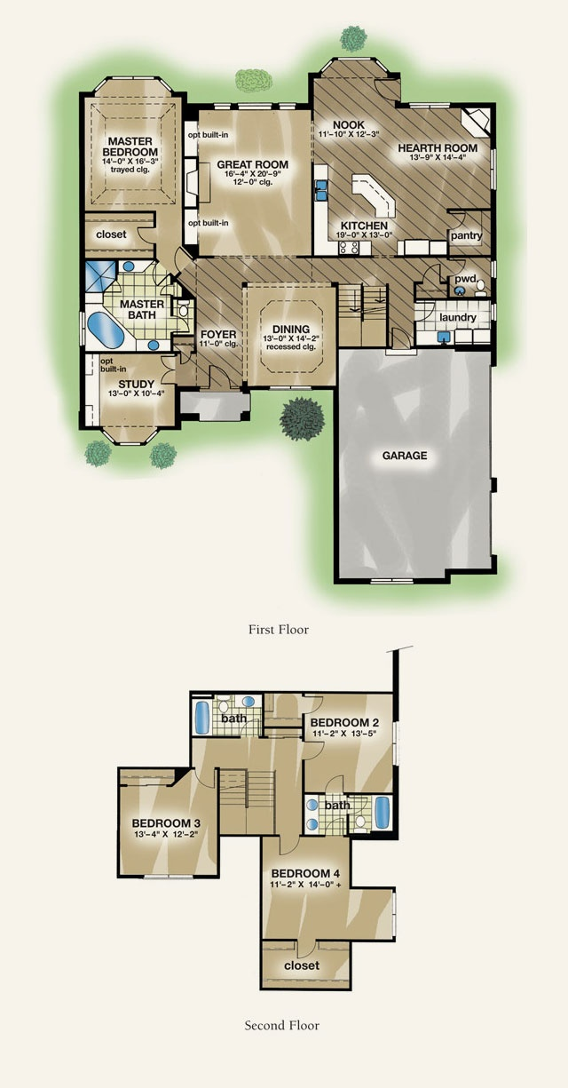 The Wexford Glen Floorplan 12 best Floor