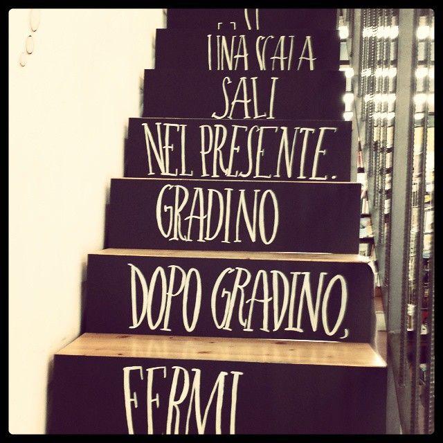 #Piki #Installation #Stairs #Neruda #Ode al presente #Acrylics